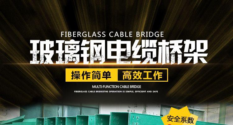 玻璃鋼電纜橋架廠家