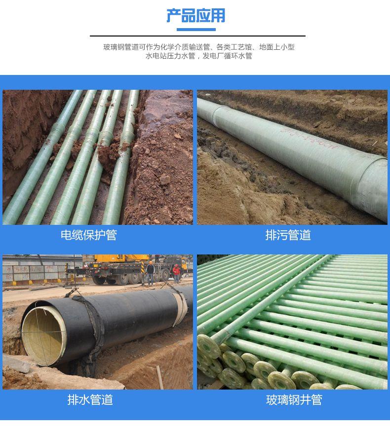 复合玻璃钢管道生产厂家